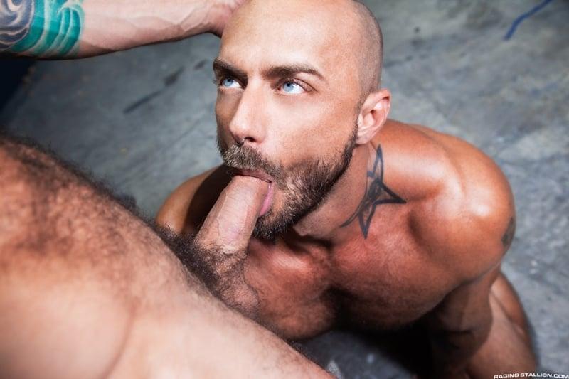 Bearded-muscle-hunk-Jessie-Colter-huge-cock-bareback-fucking-Drake-Masters-sweaty-hairy-hole-RagingStallion-001-Gay-Porn-Pics