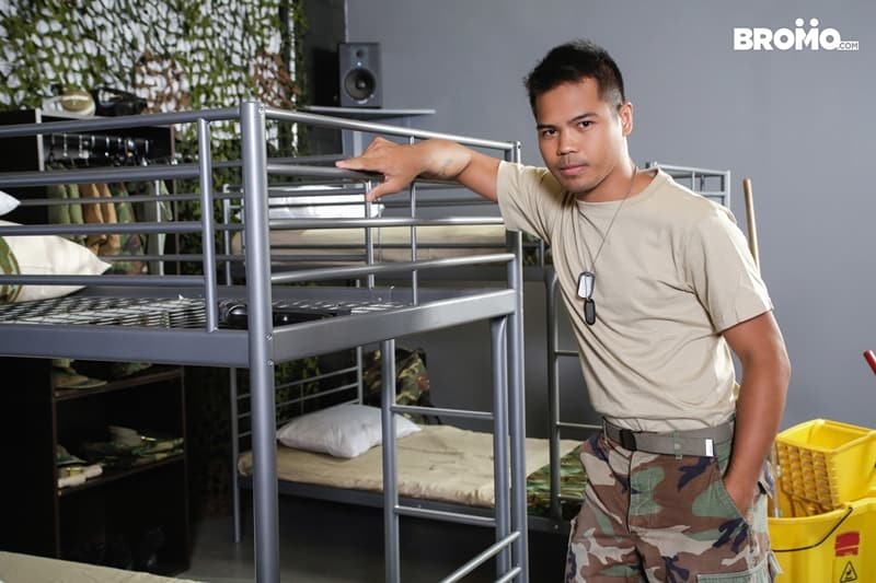Cesar-Xes-hungry-bottom-bitch-John-Rene-huge-cock-fuck-ass-hole-army-barracks-Bromo-003-Gay-Porn-Pics