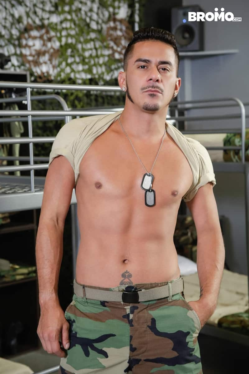 Cesar-Xes-hungry-bottom-bitch-John-Rene-huge-cock-fuck-ass-hole-army-barracks-Bromo-007-Gay-Porn-Pics